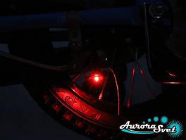 Стоп сигнал на велосипед, Вело задній габарит з автоматичним стоп-сигналом