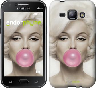 "Чехол на Samsung Galaxy J1 J100H Мэрлин Монро ""1833c-104"""
