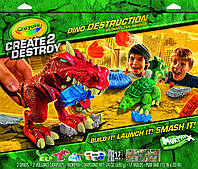 Набор Crayola Create 2 Destroy Dino Destruction Metropolitan Mayhem.