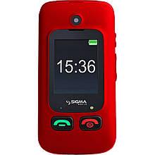 Телефон Sigma Mobile Comfort 50 Shell Duo Black-Red