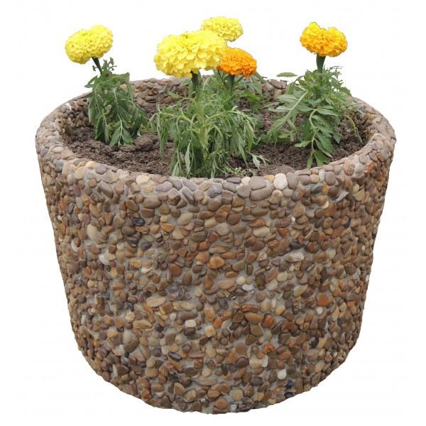 Вазон садовый для цветов «Орион» бетонный