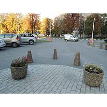Вазон садовый для цветов «Орион» бетонный, фото 3