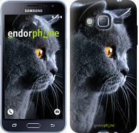 """Чехол на Samsung Galaxy J3 Duos (2016) J320H Красивый кот """"3038c-265"""""""