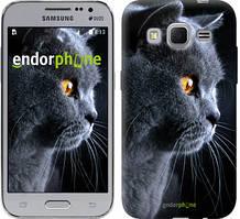 """Чохол на Samsung Galaxy J1 Mini J105H Красивий кіт """"3038c-258"""""""