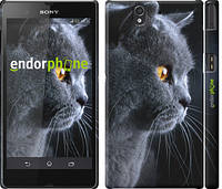 """Чехол на Sony Xperia Z3 Compact D5803 Красивый кот """"3038c-277"""""""