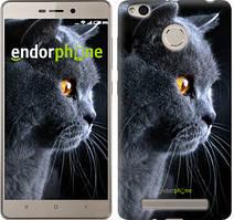 """Чохол на Xiaomi Redmi 3 Pro Красивий кіт """"3038c-341"""""""