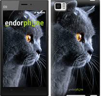 """Чохол на Xiaomi Mi3 Красивий кіт """"3038u-170"""""""