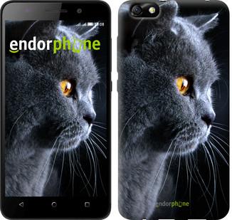 "Чехол на Huawei Honor 4X Красивый кот ""3038u-166"""