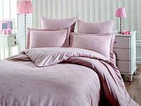 Комплект постельного белья Prima casa Tereza Pudra Бамбук Жаккард 200*220