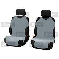 Майки сидения передние Elegant 105248 серые х/б