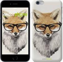 """Чохол на iPhone 6 Лис в окулярах """"2707c-45"""""""
