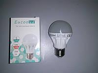 LED ЛЕД светодиодная лампа Eucooled 5Вт 5W 6500К