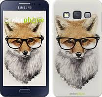 """Чохол на Samsung Galaxy A3 A300H Лис в окулярах """"2707c-72"""""""