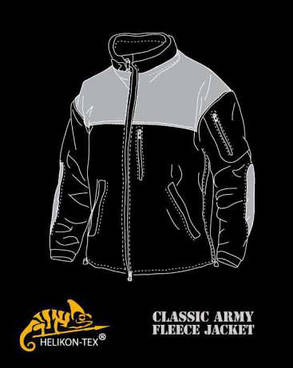 Куртка CLASSIC ARMY - Fleece - чёрная, фото 2