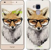 """Чохол на Huawei Honor 5C Лис в окулярах """"2707u-356"""""""