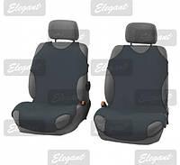 Майки сидения передние Elegant 105250 темно- серые х/б