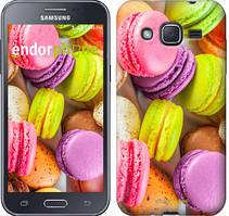"Чехол на Samsung Galaxy J2 J200H Макаруны ""2995c-190"""