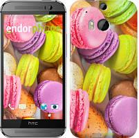 "Чехол на HTC One M8 dual sim Макаруны ""2995c-55"""