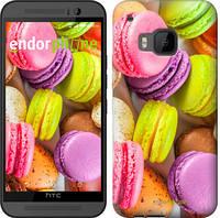 "Чехол на HTC One M9 Макаруны ""2995u-129"""