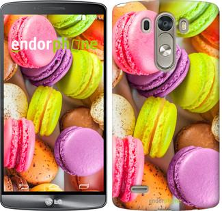 """Чехол на LG G3 dual D856 Макаруны """"2995c-56"""""""