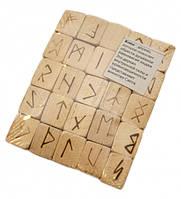 """Руны для гадания деревянные """"Клён"""" с аннотацией"""