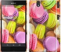 "Чехол на Sony Xperia Z C6602 Макаруны ""2995c-40"""