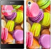 """Чохол на Sony Xperia Z5 Premium Макаруни """"2995u-345"""""""