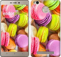 "Чехол на Xiaomi Redmi 3 Pro Макаруны ""2995c-341"""