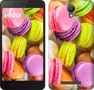 "Чехол на Xiaomi Redmi Note 2 Макаруны ""2995c-96"""