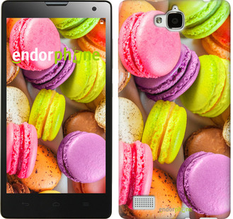 "Чехол на Huawei Y6 Pro Макаруны ""2995u-355"""