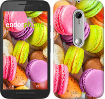 "Чохол на Motorola Moto G3 Макаруни ""2995u-318"""