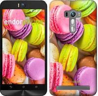 "Чехол на Asus ZenFone Selfie ZD551KL Макаруны ""2995c-116"""