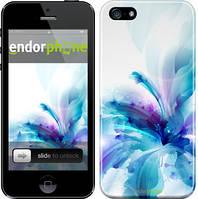 "Чехол на iPhone 5 цветок ""2265c-18"""