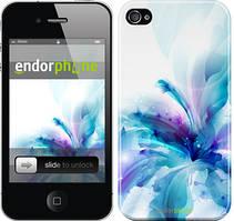 "Чехол на iPhone 4 цветок ""2265c-15"""