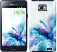 "Чехол на Samsung Galaxy S2 Plus i9105 цветок ""2265c-71"""