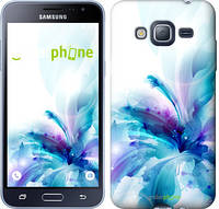 "Чехол на Samsung Galaxy J3 Duos (2016) J320H цветок ""2265c-265"""
