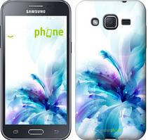 "Чехол на Samsung Galaxy J2 J200H цветок ""2265c-190"""
