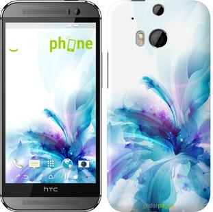 """Чехол на HTC One M8 dual sim цветок """"2265c-55"""""""