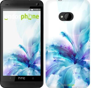 """Чехол на HTC One M7 цветок """"2265c-36"""""""