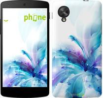 "Чехол на LG Nexus 5 цветок ""2265c-57"""