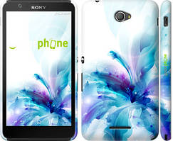 "Чохол на Sony Xperia E4 Dual квітка ""2265c-87"""