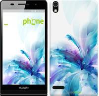"""Чехол на Huawei Ascend P6 цветок """"2265c-39"""""""