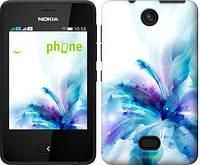 """Чехол на Nokia Asha 501 цветок """"2265u-209"""""""