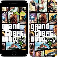 """Чехол на iPhone 7 GTA 5. Collage """"630c-336"""""""