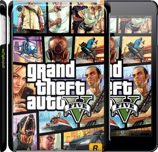 "Чехол на iPad mini GTA 5. Collage ""630c-27"""