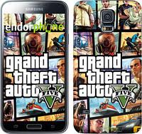 "Чехол на Samsung Galaxy S5 Duos SM G900FD GTA 5. Collage ""630c-62"""