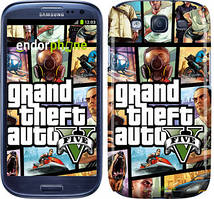 "Чехол на Samsung Galaxy S3 Duos I9300i GTA 5. Collage ""630c-50"""