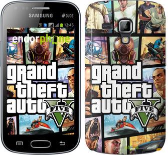"Чехол на Samsung Galaxy S Duos s7562 GTA 5. Collage ""630c-84"""