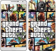 "Чехол на Samsung Galaxy Note 3 N9000 GTA 5. Collage ""630c-29"""