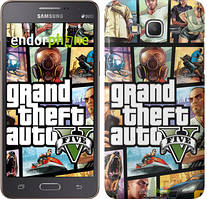"Чехол на Samsung Galaxy Grand Prime G530H GTA 5. Collage ""630c-74"""
